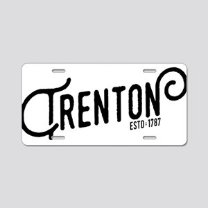 Trenton New Jersey Aluminum License Plate