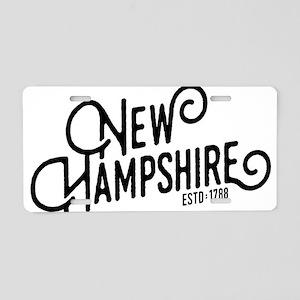 New Hampshire Aluminum License Plate