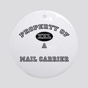 Property of a Mail Carrier Ornament (Round)