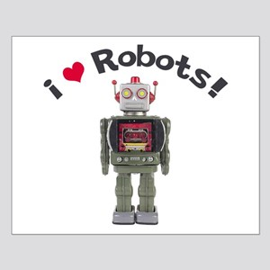 I Love Robots! Small Poster
