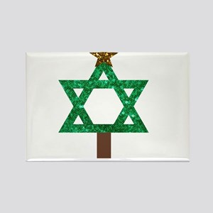 christmukkah christmas tree Magnets