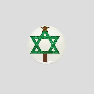 christmukkah christmas tree Mini Button