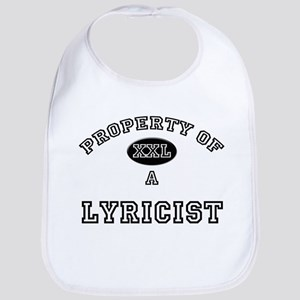 Property of a Lyricist Bib