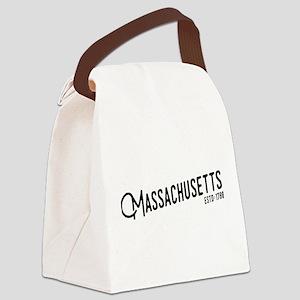 Massachusetts Canvas Lunch Bag