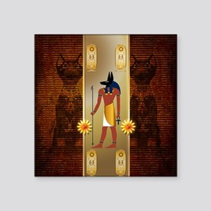 Anubis, ancient Egyptian god Sticker