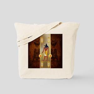 Anubis, ancient Egyptian god Tote Bag