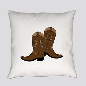 Cowboy Boots Everyday Pillow