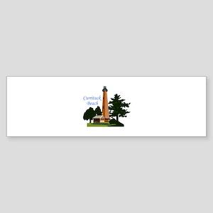 Currituck Beach Bumper Sticker