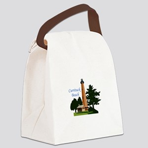 Currituck Beach Canvas Lunch Bag