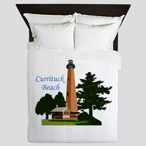 Currituck Beach Queen Duvet