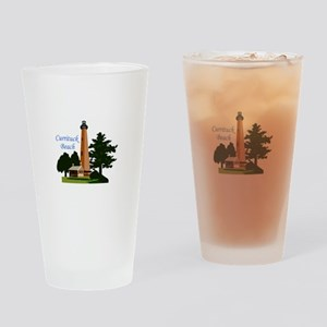 Currituck Beach Drinking Glass