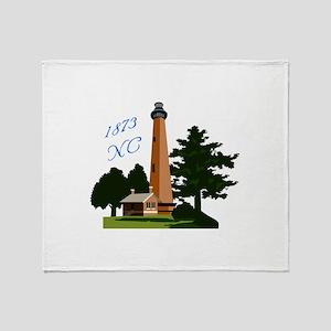 Currituck 1873 Throw Blanket