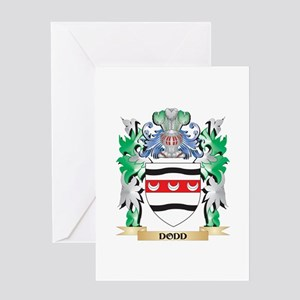 Dodd Coat of Arms (Family Crest) Greeting Cards