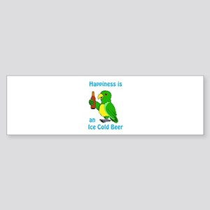 Ice Cold Beer Bumper Sticker