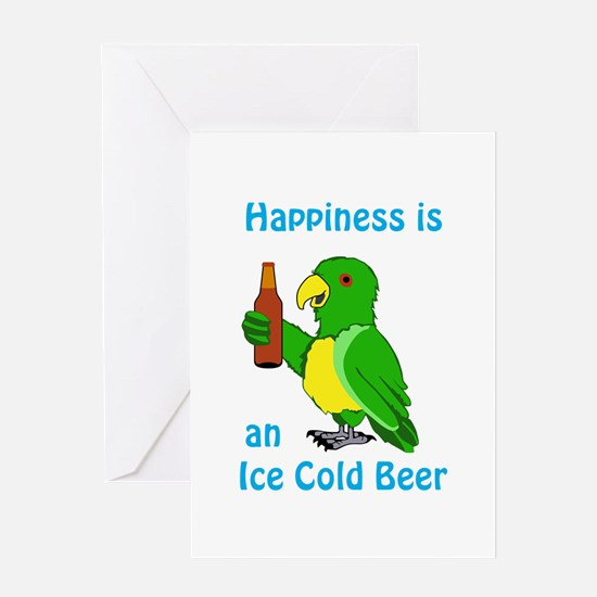 Ice Cold Beer Greeting Cards