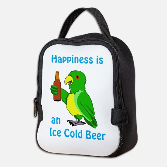 Ice Cold Beer Neoprene Lunch Bag