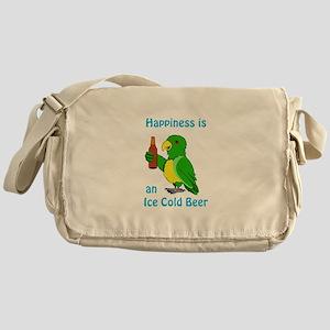 Ice Cold Beer Messenger Bag