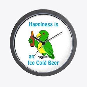 Ice Cold Beer Wall Clock
