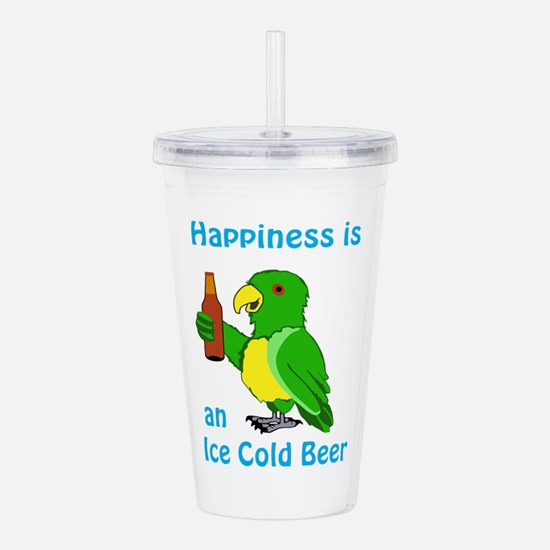 Ice Cold Beer Acrylic Double-wall Tumbler