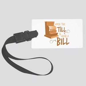 Open The Till Luggage Tag