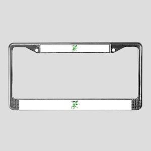 The Lizard King License Plate Frame