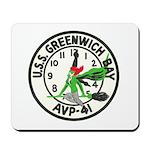 USS GREENWICH BAY Mousepad