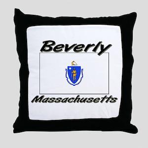 Beverly Massachusetts Throw Pillow