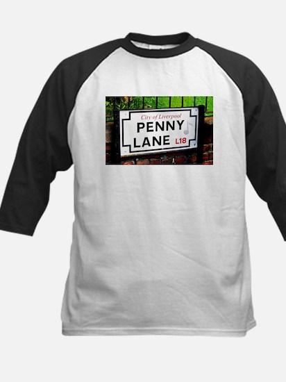 Penny Lane liverpool England Sign Baseball Jersey