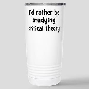 Study critical theory Mugs