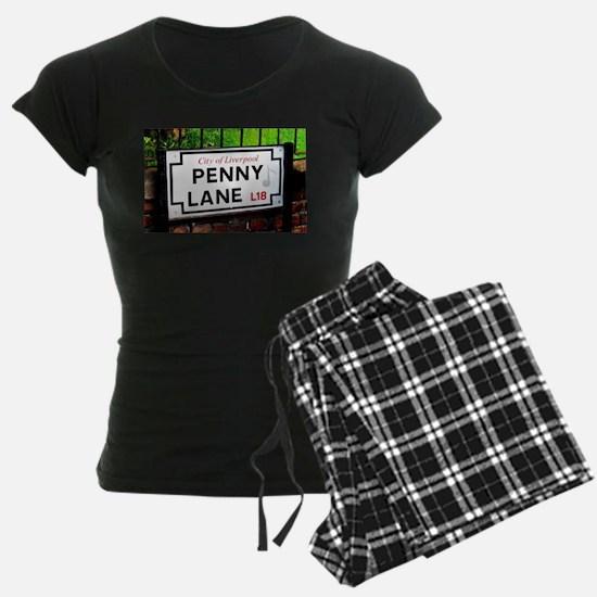 Penny Lane liverpool England Pajamas
