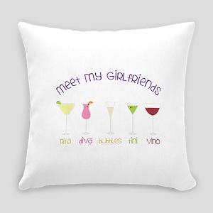 meet my GiRLfRiends Everyday Pillow