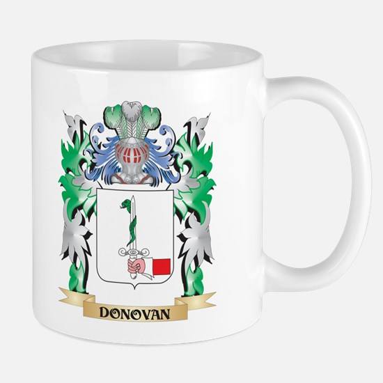 Donovan Coat of Arms (Family Crest) Mugs