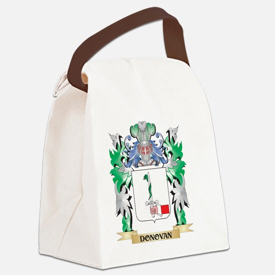 Donovan Coat of Arms (Family Cres Canvas Lunch Bag