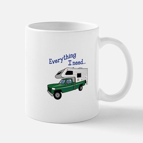 Everything I Need Mugs