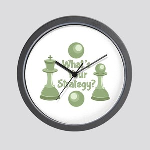 Whats Strategy Wall Clock