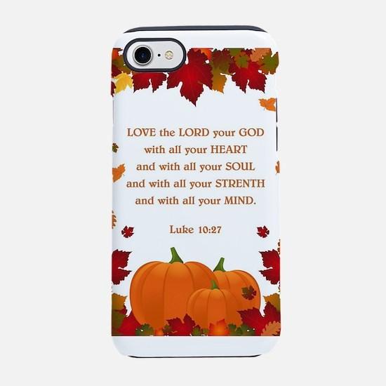 LUKE 10:27 iPhone 8/7 Tough Case