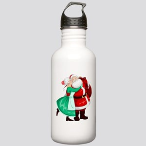 Mrs Claus Kisses Santa Stainless Water Bottle 1.0L