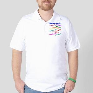 Cancer cannot Golf Shirt