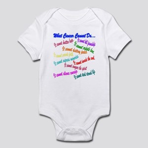 Cancer cannot Infant Bodysuit