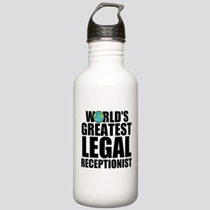 World's Greatest Legal Receptionist Water Bott