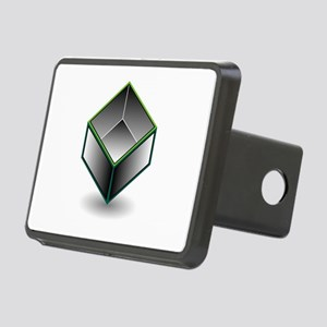 Hollow cube- an enclosed s Rectangular Hitch Cover