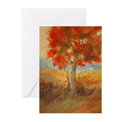 Bright Autumn Note Cards (Pk of 10)