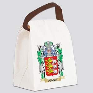 Downey Coat of Arms (Family Crest Canvas Lunch Bag