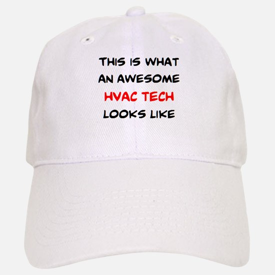 awesome hvac tech Baseball Baseball Cap