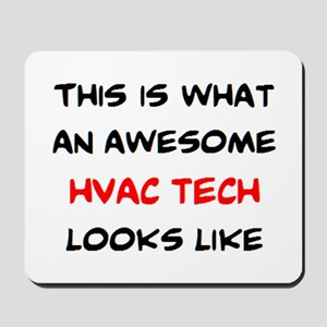 awesome hvac tech Mousepad