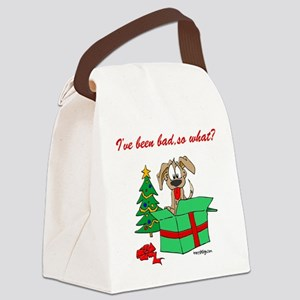 I've Been Bad So What? Canvas Lunch Bag