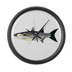 Cape Verde Mullet Large Wall Clock