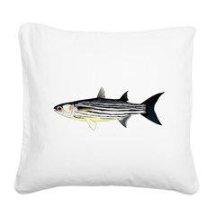 Cape Verde Mullet Square Canvas Pillow