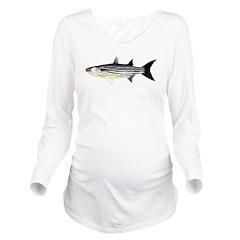 Cape Verde Mullet Long Sleeve Maternity T-Shirt