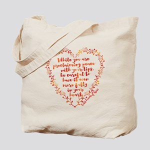 Fully in Your Heart Tote Bag